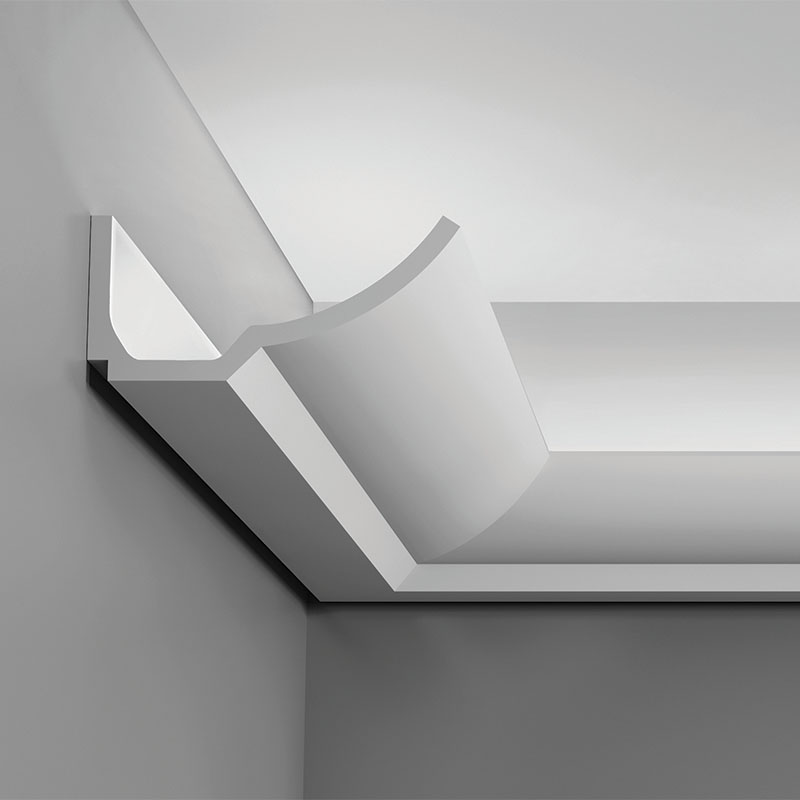 crown mouldings for indirect lighting by orac decor europe s no 1 choice. Black Bedroom Furniture Sets. Home Design Ideas